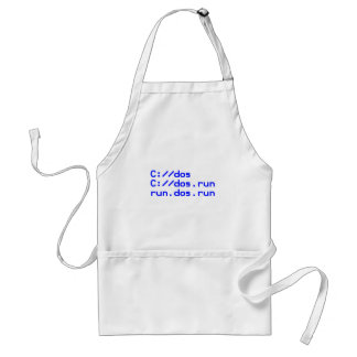 Computer geek funny standard apron