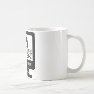 Computer Geek Girl Female Coffee Mug