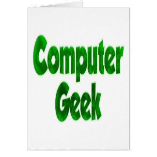 Computer Geek Green Card