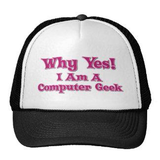 Computer Geek Hats