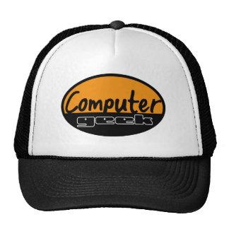 computer geek trucker hat