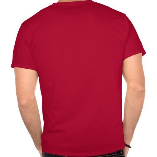 Computer Geek Mens Red T-shirt
