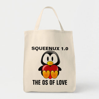 Computer Geek Valentine: Operating System for Love Grocery Tote Bag