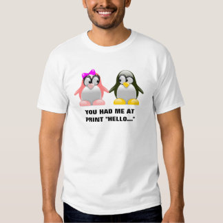 Computer Geek Valentine: Programming Language Love Shirts