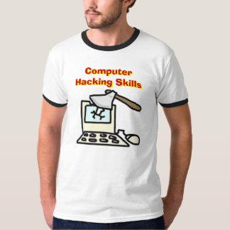 Computer Hacking Skills T-Shirt