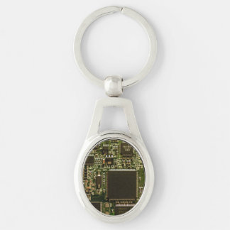 Computer Hard Drive Circuit Board Key Ring