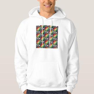 Computer Hard Drive Collage Hooded Sweatshirt