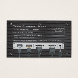 Computer Hardware Business Card