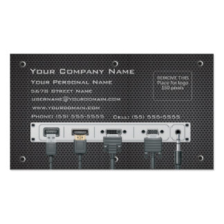 Computer Hardware Business Card
