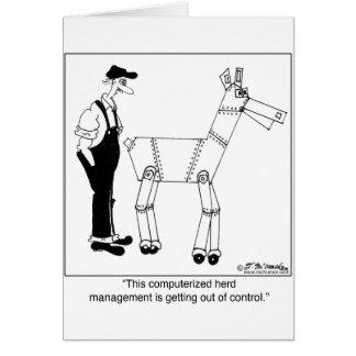 Computer Herd Management Card