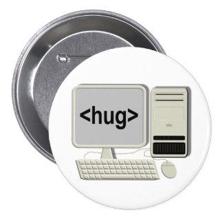 Computer Hug Button