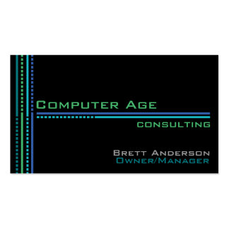 Computer Industry Business Card