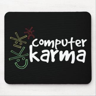 Computer Karma Mouse Pad