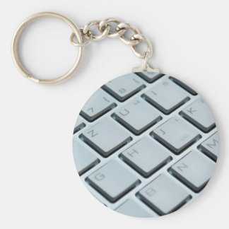 Computer Keyboard Keys - Electronic Print Key Ring