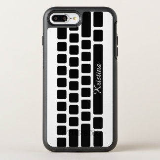 Computer Keyboard Monogram OtterBox Symmetry iPhone 8 Plus/7 Plus Case