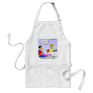 Computer Links Funny Cartoon Gifts & Collectibles Apron