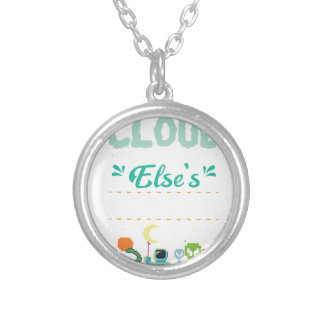 Computer Lover Gamer Funny IT Programmer Silver Plated Necklace