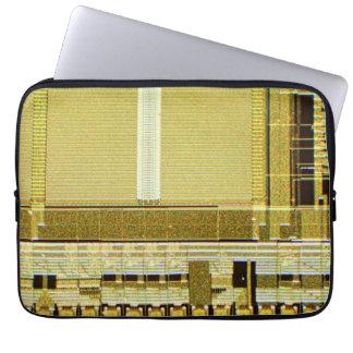 Computer Microchip Laptop Sleeves