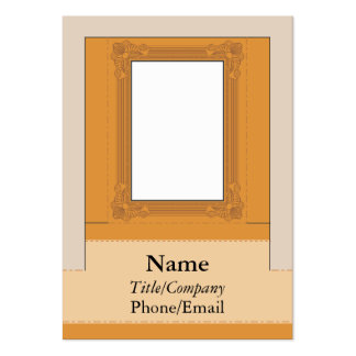 Computer Monitor Picture Frame Pack Of Chubby Business Cards