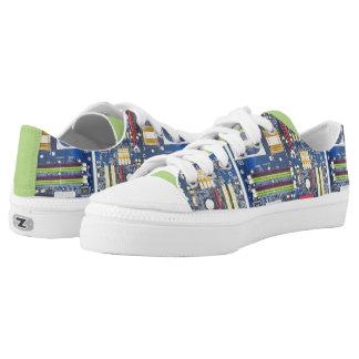 Computer Motherboard Design Sneakers