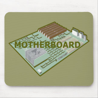 COMPUTER MOTHERBOARD MOUSE PAD