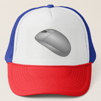 Computer Mouse Trucker Hat