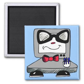 Computer Nerd Geek Magnet