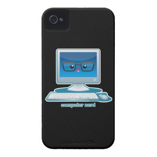 Computer Nerd iPhone 4 Case-Mate Case