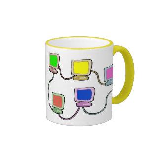 Computer Network Ringer Mug