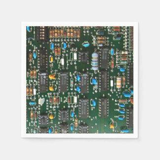 Computer Printed Circuit Board Disposable Serviettes