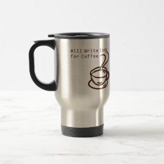 Computer Programmer Travel Coffe Mug