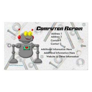 Computer Repair Pack Of Standard Business Cards