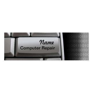 Computer Repair Skinny Business Cards