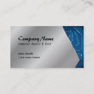 Circuit board business cards zazzle au computer repair sold circuit board business cards colourmoves