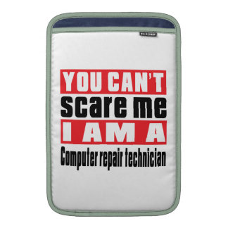 Computer repair technician scare designs MacBook air sleeve