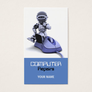 Computer Repairs Business Card