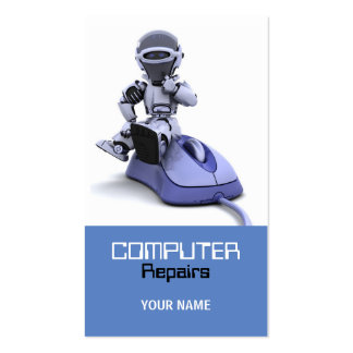 Computer Repairs Business Card