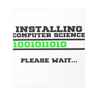 computer science degree notepad
