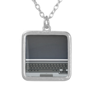 Computer Silver Plated Necklace