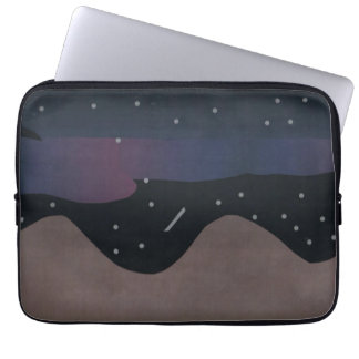 Computer Sleeve with Nighttime Scene