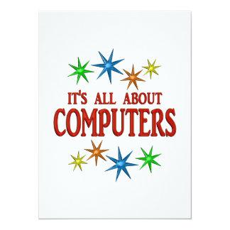Computer Stars Custom Invite
