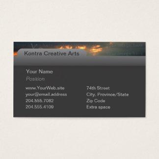Computer Tab & Photo Business Card