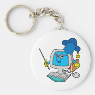 Computer teacher key ring