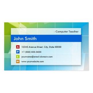 Computer Teacher - Modern Multipurpose Business Cards