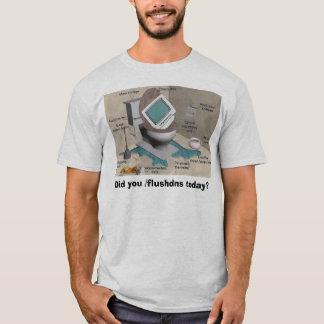 computer tech flush T-Shirt