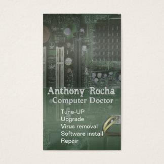 Computer Tech Repair Business Card