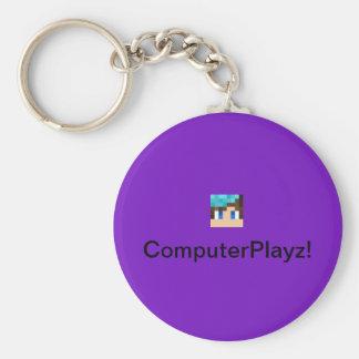 ComputerPlayz OFFICIAL Keychain