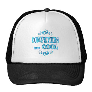 Computers are Cool Mesh Hat