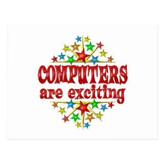 Computers are Exciting Postcard