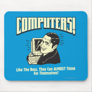 Computers: Like the Boss Mouse Pad